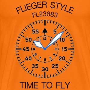 Pilot's watch - Men's Premium T-Shirt