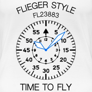Pilot's watch - Frauen Premium T-Shirt