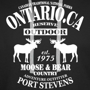 Canada - Moose & Bear Country Hoodies & Sweatshirts - Men's Premium Hoodie