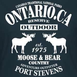 Canada - Moose & Bear Country Tee shirts - T-shirt Femme