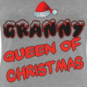 Granny queen of christmas T-Shirts - Women's Premium T-Shirt