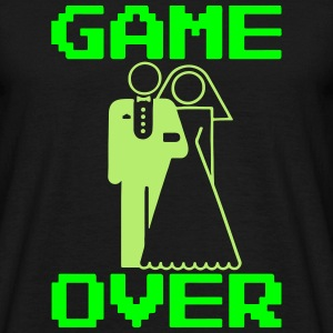 Game Over - Mariage Geek - T-shirt Homme
