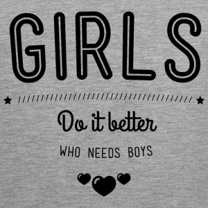 Girls do it better Tank topy - Tank top męski Premium