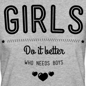 Girls do it better T-shirts - Ekologisk T-shirt dam