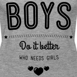 Boys do it better Topy - Tank top damski Premium