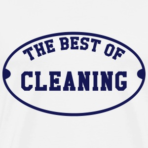 The Best of Cleaning  T-shirts - Mannen Premium T-shirt