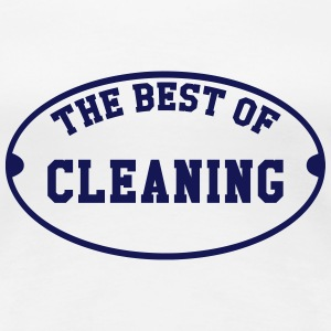 The Best of Cleaning  T-Shirts - Frauen Premium T-Shirt
