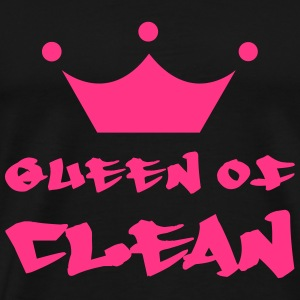 Queen of Clean Tee shirts - T-shirt Premium Homme