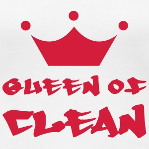 Queen of Clean T-shirts - Premium-T-shirt dam