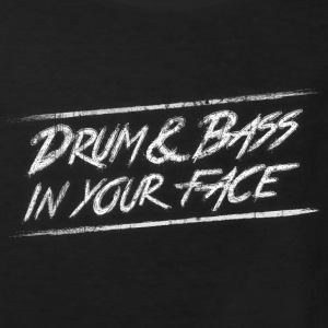 Drum & bass in your face / Party / Rave / Dj Shirts - Kids' Organic T-shirt