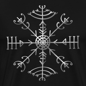 Veldismagn - Fortune & Protection Symbol, Iceland  - Men's Premium T-Shirt