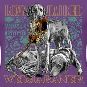 long haired weimaraner T-Shirts - Women's Premium T-Shirt