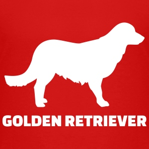 Golden Retriever T-Shirts - Kinder Premium T-Shirt