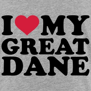 I love my great dane T-Shirts - Kinder Premium T-Shirt