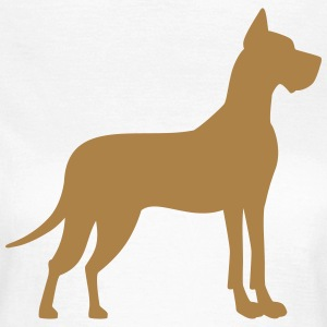 Dogge T-Shirts - Frauen T-Shirt