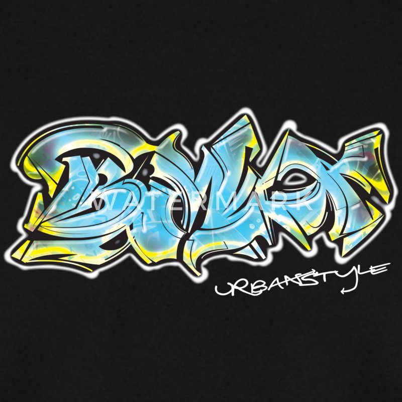Urban Style Graffiti BMX - Men's Sweatshirt