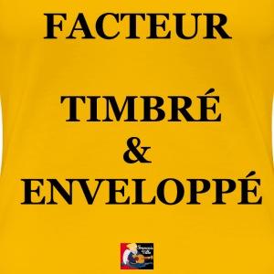 FACTEUR TIMBRÉ et ENVELOPPÉ - Jeux de Mots Francoi