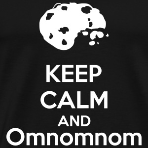 Keep Calm And Omnomnom T-shirts - Premium-T-shirt herr