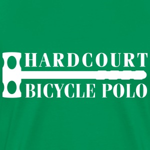 hardcourt_bicycle_polo_with_mallet T-Shirts - Men's Premium T-Shirt