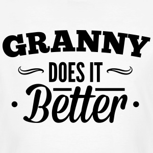 Grandma, Grandma makes it better T-shirts - Mannen Bio-T-shirt