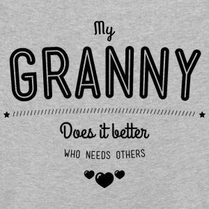 My granny does it better Shirts met lange mouwen - Kinderen Premium shirt met lange mouwen