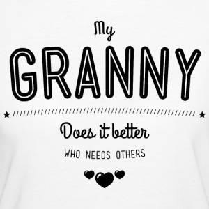 My granny does it better T-shirts - Vrouwen Bio-T-shirt