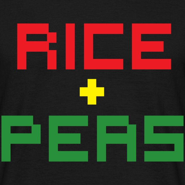 RICE + PEAS