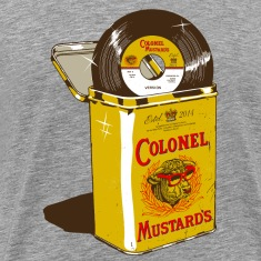 Colonel Mustard's Logo T-Shirts