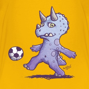 Dino football Shirts - Kids' Premium T-Shirt