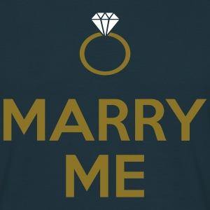 Marry Me T-shirts - Mannen T-shirt