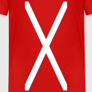 Cross of Saint Andrew_sa1 Shirts - Teenage Premium T-Shirt