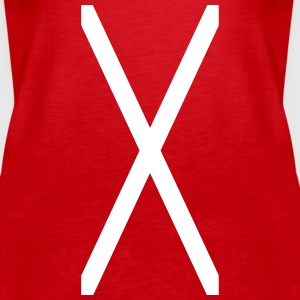 Cross of Saint Andrew_sa1 Tops - Women's Premium Tank Top