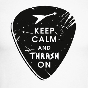 Keep calm and thrash on Langarmshirts - Männer Baseballshirt langarm