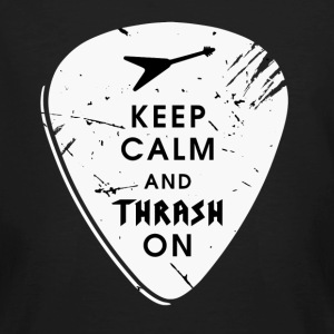 Keep calm and thrash on T-Shirts - Männer Bio-T-Shirt