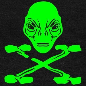 pirate alien Sweat-shirts - Pull Femme col bateau de Bella