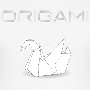 origami cygne.png Tee shirts - Tee shirt près du corps Homme