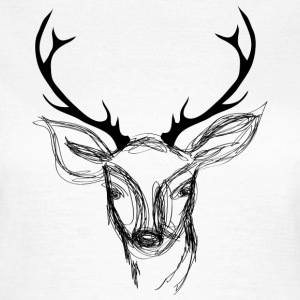 A scribbled deer head T-Shirts - Women's T-Shirt