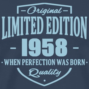 Limited Edition 1958 T-shirts - Premium-T-shirt herr
