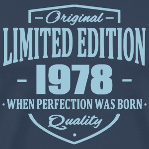 Limited Edition 1978 T-shirts - Mannen Premium T-shirt