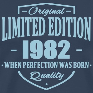 Limited Edition 1982 T-shirts - Herre premium T-shirt