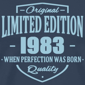 Limited Edition 1983 T-shirts - Herre premium T-shirt