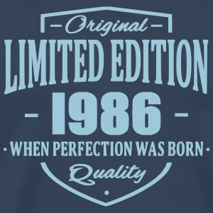 Limited Edition 1986 T-shirts - Mannen Premium T-shirt