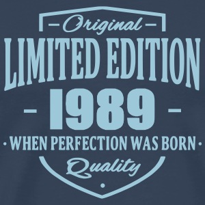 Limited Edition 1989 T-shirts - Mannen Premium T-shirt