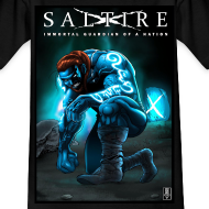Design ~ Saltire Invasion Tshirt Older Kids