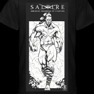 Design ~ Saltire Annihilation B&W Tshirt Kids