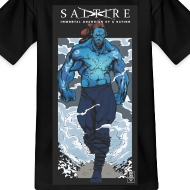 Design ~ Saltire Annihilation Tshirt Older Kids