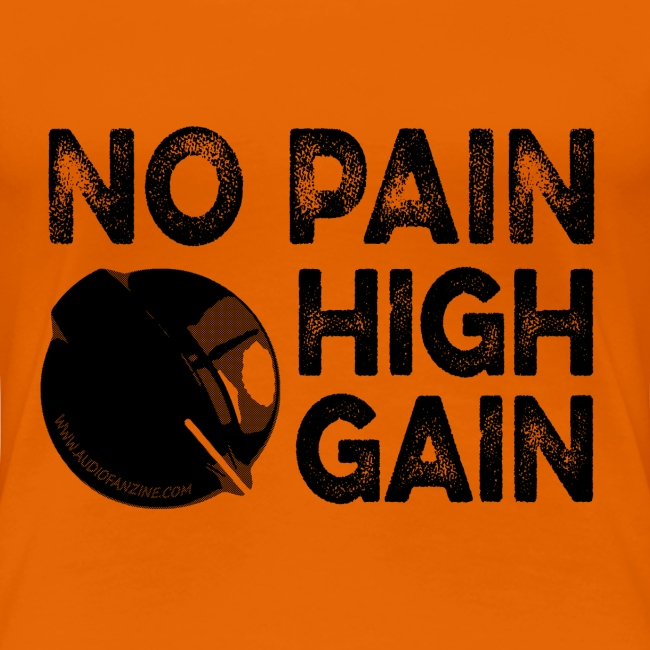 no pain, high gain! (Woman)