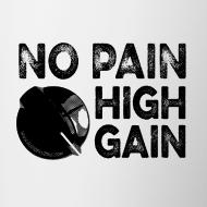 Motif ~ no pain, high gain! (Mug)