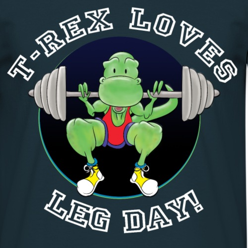T-Rex Loves Leg Day!