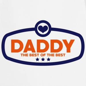 Daddy The Best of The Best Kookschorten - Keukenschort